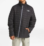 THE NORTH FACE BOYS THERMOBALL FULL ZIP JACKET - TNF BLACK