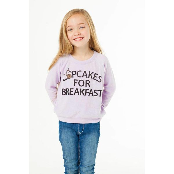 CUPCAKES FOR BREAKFAST PULLOVER