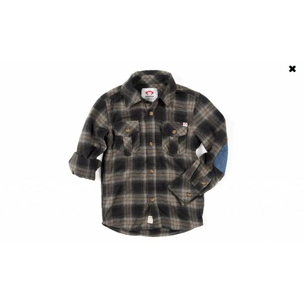 FLANNEL SHIRT - VINTAGE BLACK PLAID