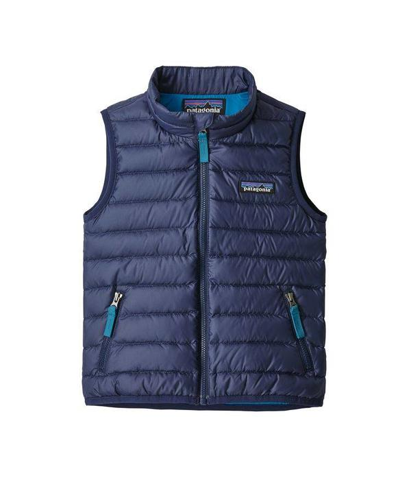 PATAGONIA BABY DOWN SWEATER VEST - CLASSIC NAVY