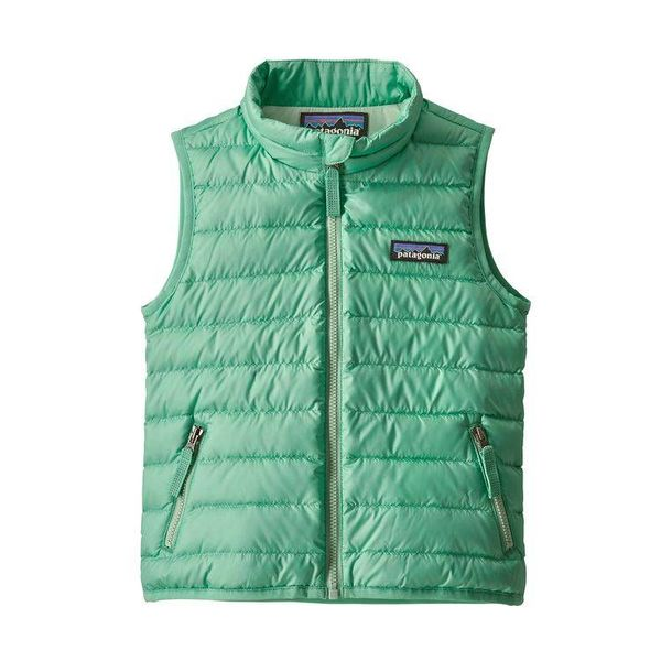 BABY DOWN SWEATER VEST - VIOSA GREEN