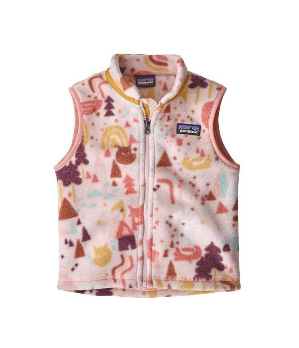 PATAGONIA BABY SYNCHILLA VEST - PINK OPAL