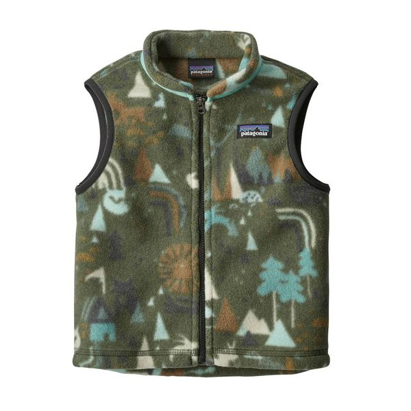 BABY SYNCHILLA VEST - INDUSTRAL GREEN