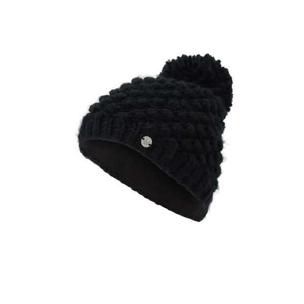 GIRL'S BRRR BERRY HAT - BLACK