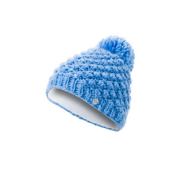 GIRL'S BRRR BERRY HAT - BLUE ICE