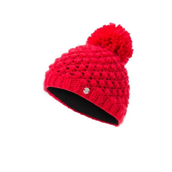 GIRL'S BRRR BERRY HAT - HIBISCUS