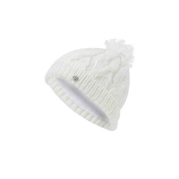 GIRL'S KALEIDOSCOPE HAT - WHITE