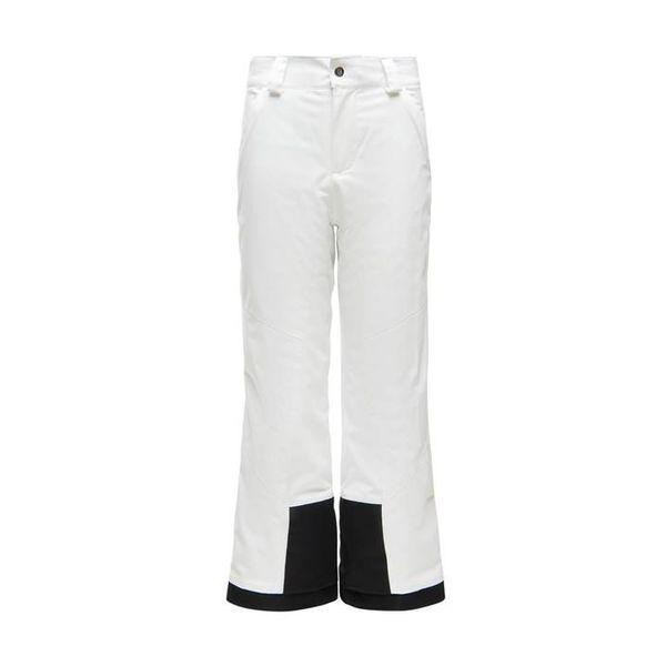 GIRL'S OLYMPIA REGULAR PANT - WHITE