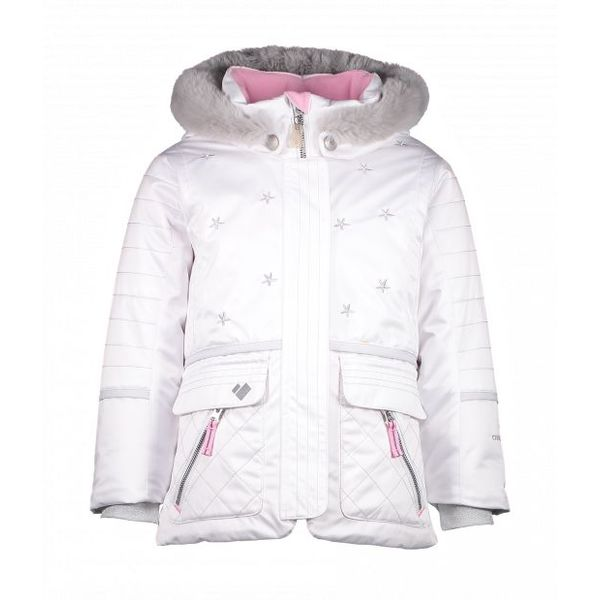 PRESCHOOL GIRLS LINDY JACKET - WHITE