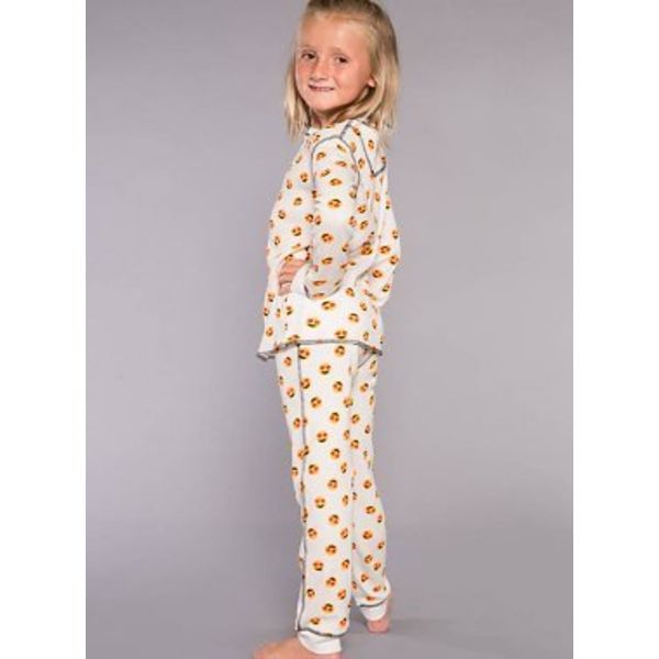 PRESCHOOL GIRL MOOD EMOJI JAMMIE SET