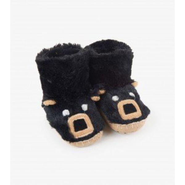 BLACK BEAR KIDS SLIPPERS