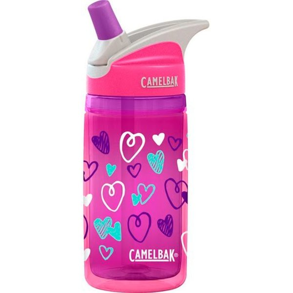 PINK HEARTS EDDY KIDS INSULATED .4L