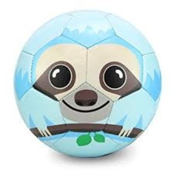 NOAH THE SLOTH SOCCER BALL