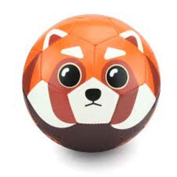 BOWIE THE RED PANDA SOCCER BALL