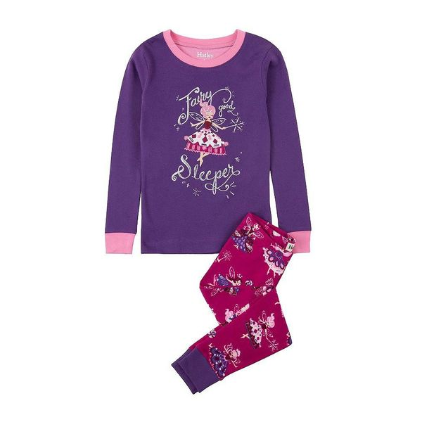 FAIRY PRINCESS ORGANIC PAJAMA SET