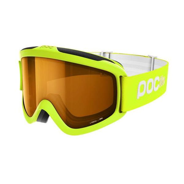 POCITO IRIS GOGGLE - FLUOR YELLOW/GREEN - ONE SIZE