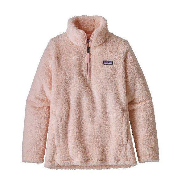 GIRLS LOS GATOS 1/4 ZIP FLEECE - PINK OPAL