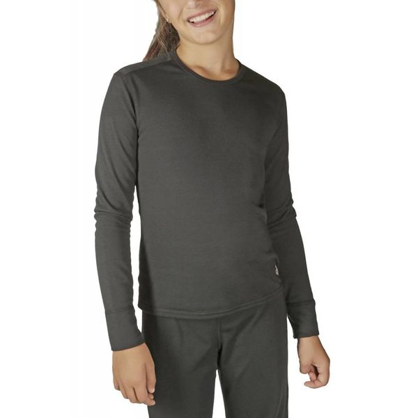 YOUTH MIDWEIGHT CREW - BLACK
