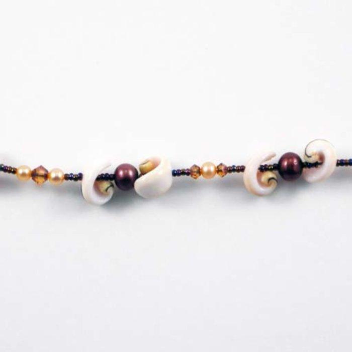 Silver Sealife Necklace