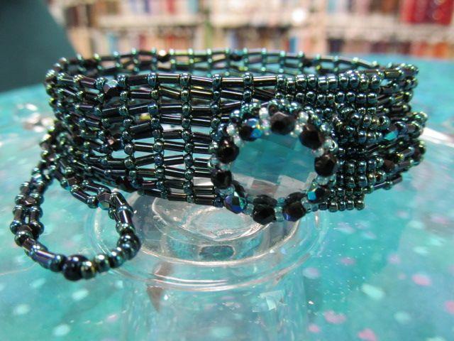 Dainty Diva Bracelet Class Kit - Button & Seed Beads