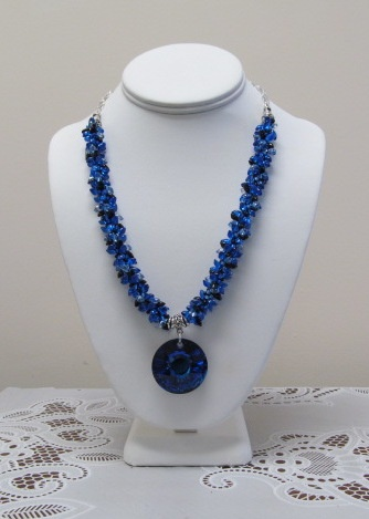 Kumihimo Long Magatama Necklace Class Kit