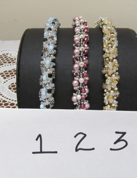 Options Bracelet Class Kit - Pearls