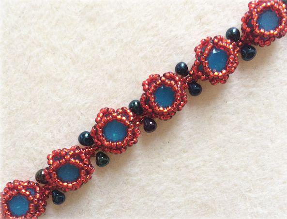 Rose Buds Bracelet Instruction & Materials Kit