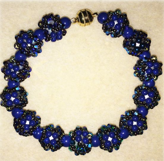 Disco Ball Bracelet Materials & Instructions Kit - Preciosa