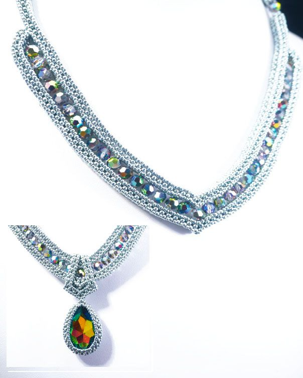 7/15 10am-4pm  High Society Necklace Webinar Class Instruction