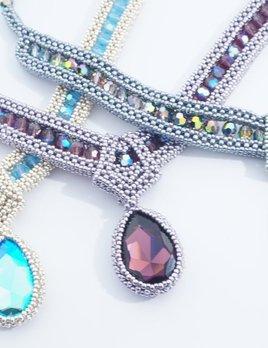 High Society Necklace Webinar Crystals  Class Kit