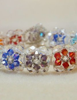 Blooming Elegance Bracelet Kit - Thunderpolish & Firepolish