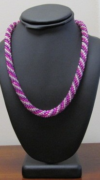 Bead Crochet Necklace Kit - Seed Beads