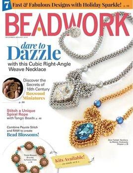 Magazines & Books MB MAGZ Beadwork - 2017 12 Dec / Jan
