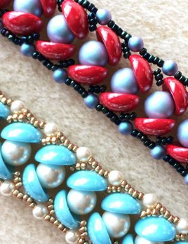 Pearls in a Half Shell Bracelet Instruction & Materials Kit
