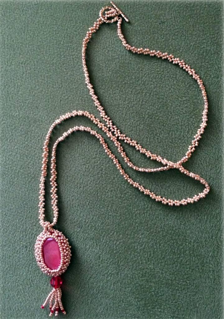 Opera Pendant Necklace Instructions & Materials Kit