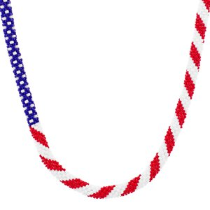6/20 10a-1p America the Beautiful Necklace