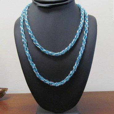 7/11 10a-1p Turkish Bead Crochet Necklace