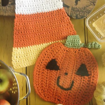 10/16 6-9pm Month by Month Dishcloths - October
