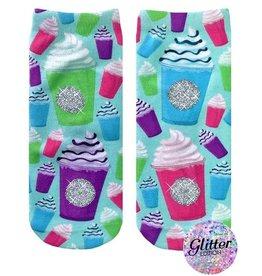 Living Royal Frappe Glitter Socks