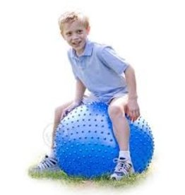"Tactile Sensory Ball 28"" Blue"