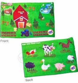 "Find Me Lap Pad - At the Farm - 3lb - 3x8"""
