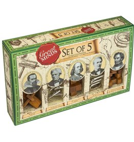 Professor Puzzle Great Minds Set of 5