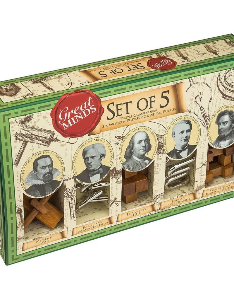 Professor Puzzle Great Minds Set of 5