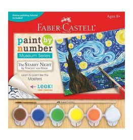 Faber Castell Paint By Number Museum Seres-The Starry Night