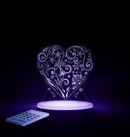 Love Heart Sleepy Light