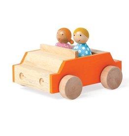 Manhattan Toy MIO Car + 2 People