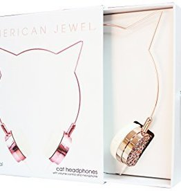 American Jewel Kitty Headphones
