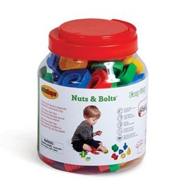 Edushape Ez-Grip Nuts & Bolts - 40 Pc