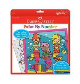 Faber Castell Paint By Number Deluxe Seahorse & Friends