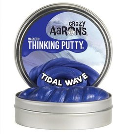 "Crazy Aaron's Putty Tidal Wave Super Magnetic 4"" Tin plus magnet"